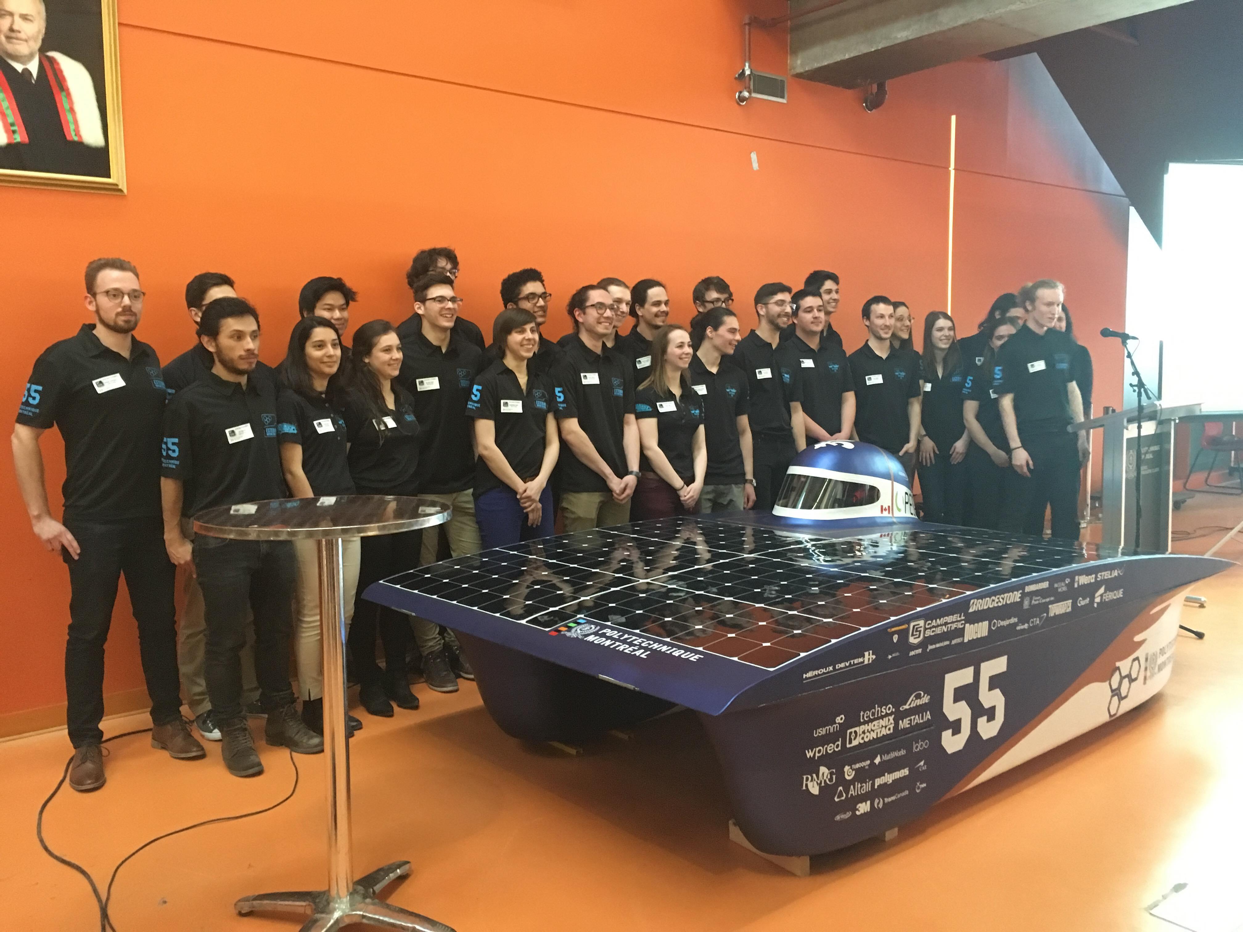 Dévoilement de la voiture solaire Esteban 9
