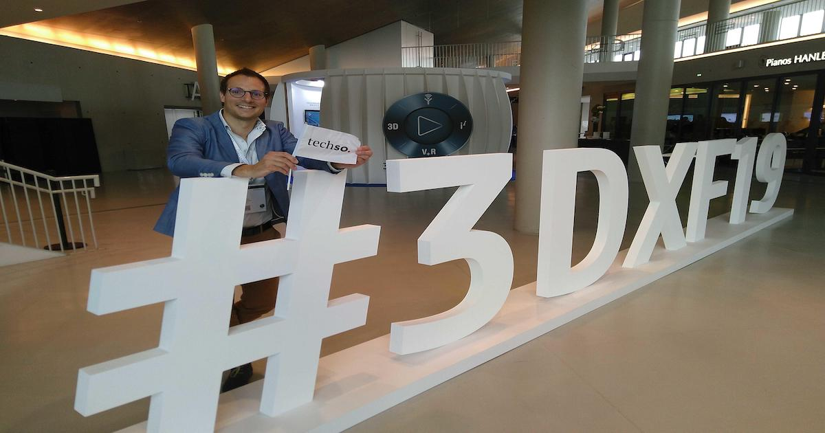Techso au Forum 3DEXPERIENCE, France 2019